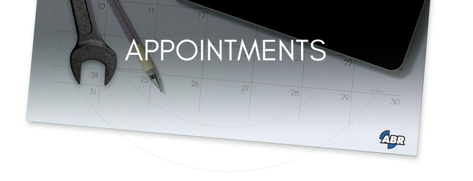 Appointment Page Banner