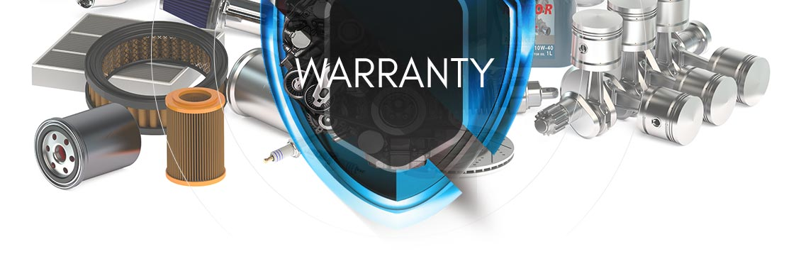 Warranty Page Banner